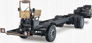 Cabinas de pintura para chasis de camiones