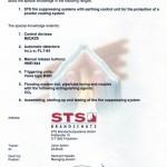 certificado de instalador sistemas sts
